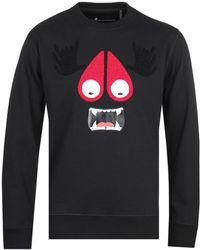 Moose Knuckles - Black Munster Sweatshirt - Lyst