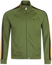 Pretty Green Island Tilby Track Zip Sweatshirt - Green