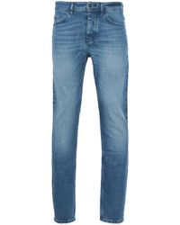 BOSS by HUGO BOSS Taber Stonewash Slim Tapered Jeans - Blue