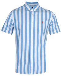 Polo Ralph Lauren Stripe Blue Shirt