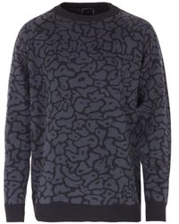 Maharishi Camo Knitted Jumper - Black