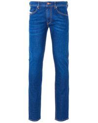 DIESEL Thommer Slim Fit Jeans - Dark Blue