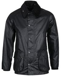 Barbour Bedale Black Wax Jacket
