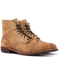 "Red Wing 8083 Hawthorne Muleskinner Heritage 6"" Iron Ranger Boots - Brown"