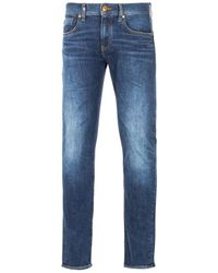 Armani Exchange J13 Slim Fit Jeans - Indigo - Blue