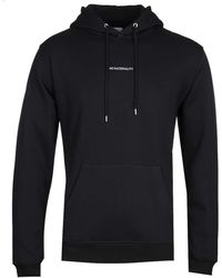 NN07 Barrow 3385 No Nationality Hooded Sweatshirt - Black