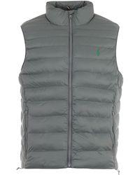 Polo Ralph Lauren Sustainable Packable Gilet - Grey