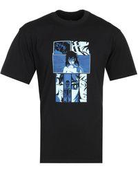 Edwin Apollo Thomas High Fantasy Black T-shirt