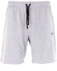 BOSS by HUGO BOSS Bodywear Mix & Match Sustainable Marl Sweat Shorts - Grey