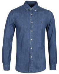 Polo Ralph Lauren Classic Fit Chambray Shirt - Blue