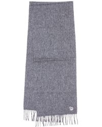 PS by Paul Smith - Zebra Patch Lambswool Grey Scarf - Lyst
