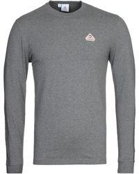 Pyrenex Bario Gray Long Sleeve T-shirt