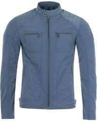Belstaff Weybridge Biker Jacket - Racing Blue