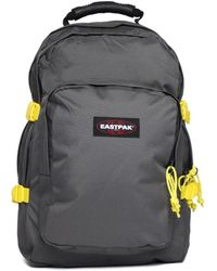 Eastpak - Provider Grey & Yellow Backpack - Lyst