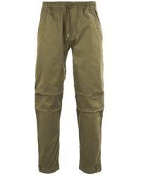 Maharishi Woven Cargo Mil Spec Olive Trackpants - Green