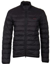 Barbour - Penton Black Quilted Jacket - Lyst