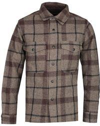 Filson Mackinaw Black & Brown Jac Overshirt