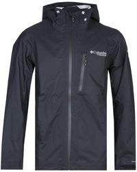 Columbia Titanium Pass 2.5l Shell Black Lightweight Jacket