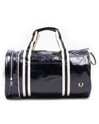 Fred Perry Classic Barrel Bag - Black