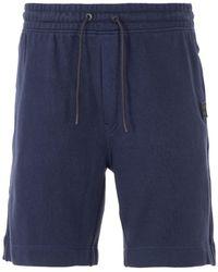BOSS by HUGO BOSS Skoleman Sustainable Sweat Shorts - Blue