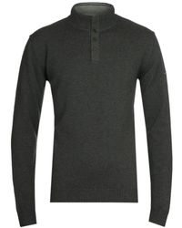 Armor Lux Pull Camionneur Green Sweater