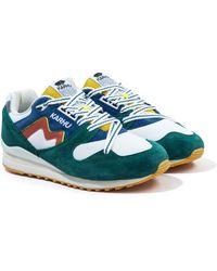 Karhu Synchron Classic Sneakers - Blue Spruce & Mango