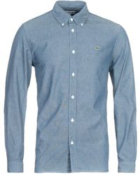 Lacoste Blue Chambray Shirt
