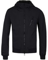 Belstaff - Black Stretch Shell Rockford Jacket - Lyst