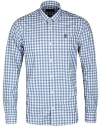 Henri Lloyd - Kelton Regular Blue Check Shirt - Lyst