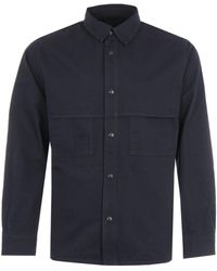 Filson Herringbone Jac-shirt - Blue