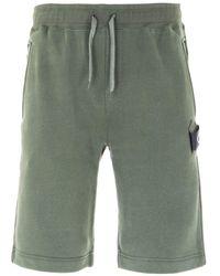 MA.STRUM Core Sweat Shorts - Green