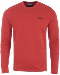 Barbour Decal Long Sleeve T-shirt - Red