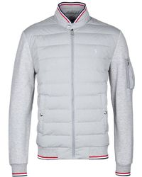 Polo Ralph Lauren Grey Heather Active Fit Hybrid Down Jacket - Gray