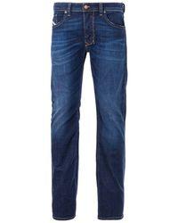 DIESEL Larkee Straight Fit Jeans - Blue