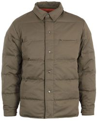 Uniform Bridge Down Shirt Jacket - Green