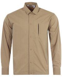Uniform Bridge Pocket Easy Overshirt - Natural
