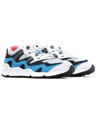 New Balance - 850 White & Blue Lightweight Performance Trainers - Lyst