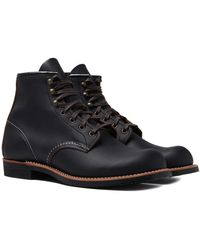 Red Wing - 3345 Blacksmith Black Prairie Leather Boots - Lyst