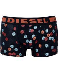DIESEL - Seasonal Edition Hero Fit Dice Boxer Trunk - Lyst