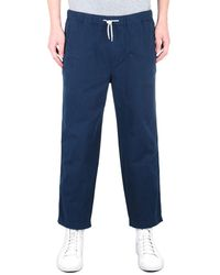 Albam Rip Stop Navy Drawstring Pants - Blue