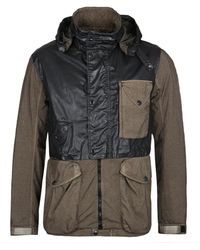 C P Company Mille Miglia Quartz Khaki & Black Field Jacket