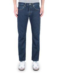 Edwin - Ed-55 Regular Tapered Yoshiko Left Hand 12.6 Oz Akira Wash Blue Denim Jeans - Lyst