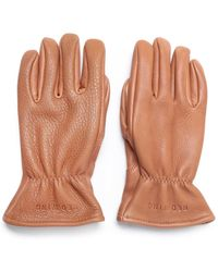 Red Wing - Lined Nutmeg Leather Gloves - Lyst
