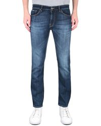 BOSS by Hugo Boss Maine 3 Regular Fit Mid Wash Blue Denim Jeans