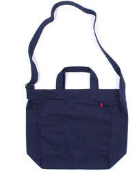 Polo Ralph Lauren Canvas Tote Bag - Blue