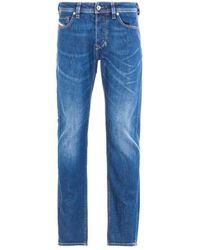 DIESEL Larkee Beex Blue Tapered Jeans