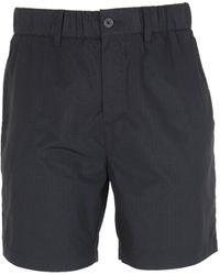 Lyle & Scott Jet Black Ripstop Shorts
