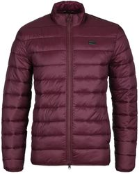 Barbour Reed Burgundy Quilted Jacket - Purple