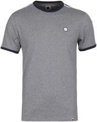 Pretty Green - Tilby Moon Grey T-shirt - Lyst