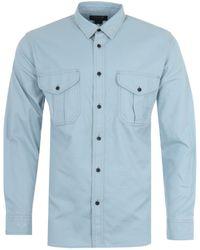 Filson Alaskan Guide Lightweight Shirt - Blue